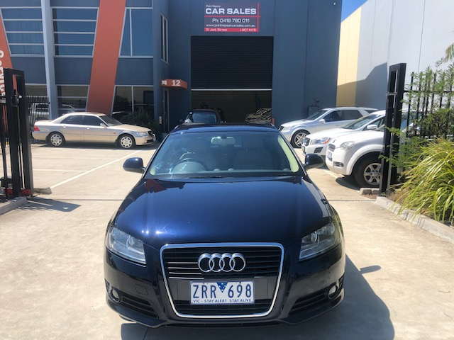 2010 Audi A3 8P TFSI Ambition Sportback 5dr S tronic 7sp 1.8T [MY10] - image a3-2 on https://www.pointnepeancarsales.com.au